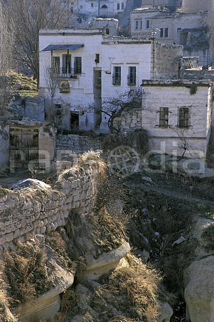ee2652-06LE : Anatolie Centrale, Cappadoce.  Europe, C02, C01 environnement, habitation, voyage aventure (Turquie).