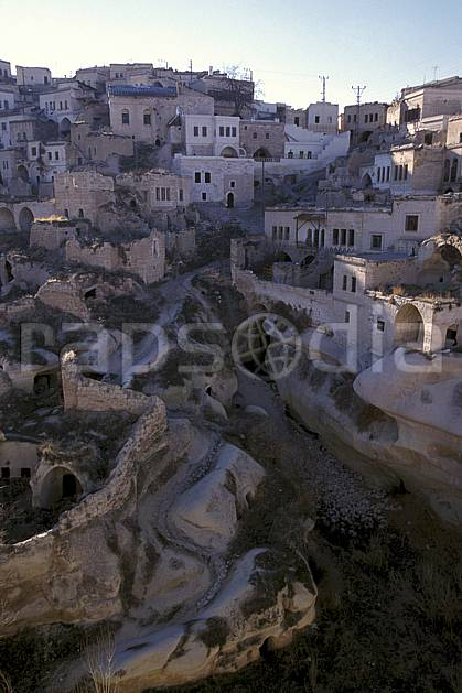 ee2652-07LE : Anatolie Centrale, Cappadoce.  Europe, C02, C01 environnement, habitation, voyage aventure (Turquie).