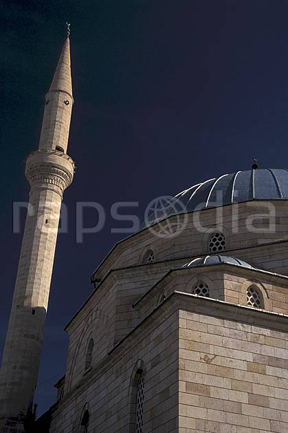 ee2653-06LE : Anatolie Centrale, Cappadoce.  Europe, ciel bleu, mosquée, C02, C01 environnement, voyage aventure (Turquie).