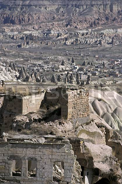 ee2653-37LE : Anatolie Centrale, Cappadoce.  Europe, folklore, ruine, tradition, C02, C01 environnement, habitation, patrimoine, voyage aventure (Turquie).