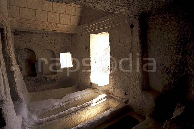 ee2656-04LE : Anatolie Centrale, Cappadoce.  Europe, folklore, ruine, tradition, C02, C01 environnement, habitation, patrimoine, voyage aventure (Turquie).