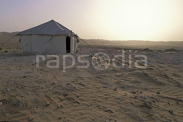 ee2837-01LE : Tente traditonnelle dans le désert.  Afrique, Moyen Orient, tente, C02, C01 bivouac, désert, environnement, voyage aventure (Arabie-Saoudite).