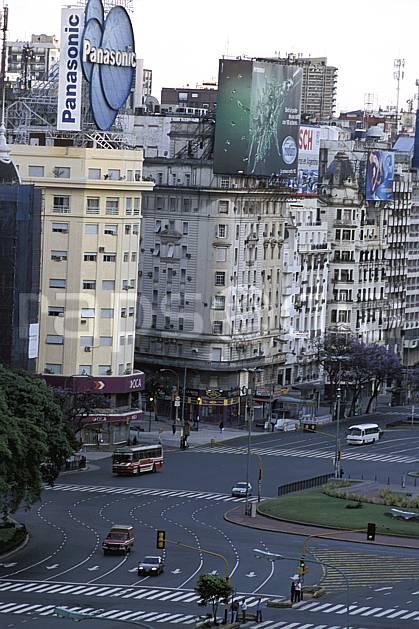 ee3180-05LE : Patagonie.  Amérique du sud, Amérique Latine, Amérique, ville, rue, route, immeuble, voiture, C02, C01 environnement, habitation, transport, voyage aventure (Argentine).