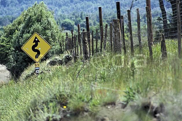 ee3195-05LE : Patagonie.  Amérique du sud, Amérique Latine, Amérique, signalisation, C02, C01 environnement, transport, voyage aventure (Argentine).