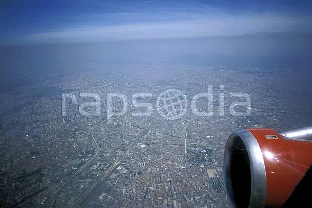 ee3207-02LE : Patagonie.  Amérique du sud, Amérique Latine, Amérique, ville, vue aérienne, avion, C02, C01 environnement, habitation, transport, voyage aventure (Argentine).