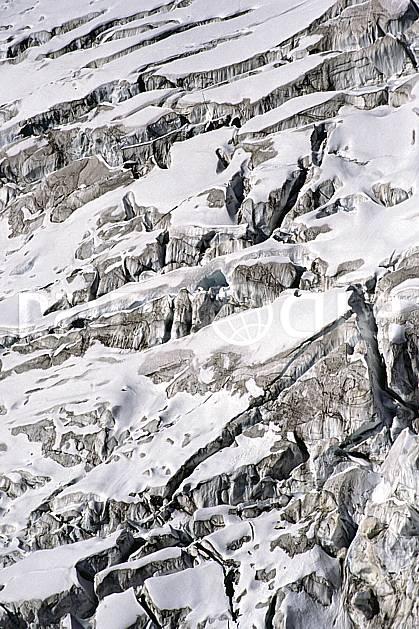 fa0858-10LE : Glacier.  Europe, CEE, glacier, C02, C01 textures et fonds (France).