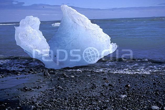 fa1034-15LE : Morceau de glace.  ONU, OTAN, C02, C01 textures et fonds (Islande).