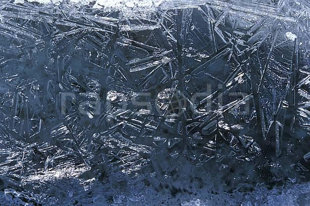 fa2522-01LE : Eau gelée.  Europe, C02, C01 textures et fonds (Suisse).