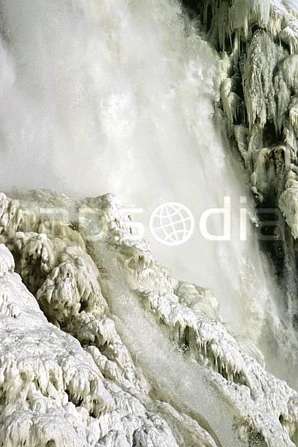 fa3112-21LE : Chute de Montmorency en hiver.  Amérique du nord, Amérique, cascade de glace, C02, C01 textures et fonds, voyage aventure (Canada Québec).