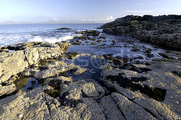 ha072031LE : Marée montante à Saint John's point, Donegal.  Europe, CEE, plage, littoral, C02 mer, paysage (Irlande).