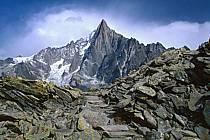 Aiguilles des Drus, Massif of Mont-Blanc, Haute-Savoie, Alpes, ref aa0338-29GE