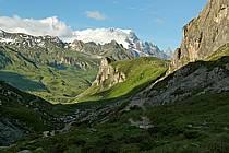 Combe de la Neuva, Beaufortain, Savoie, Alpes, ref aa041209LE