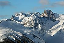 Depuis La Plagne, Massif du Mont Blanc, Savoie, Alpes, ref aa043046LE