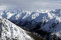Massif Andin près de Bariloche, Patagonie, ref aa054814GE