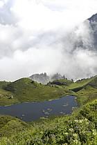 Col de Bise et lac de Neuteu, Chablais, Haute-Savoie, ref aa063004GE