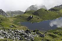 Col de Bise et lac de Neuteu, Chablais, Haute-Savoie, ref aa063005GE