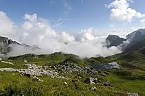 Col de Bise et lac de Neuteu, Chablais, Haute-Savoie, ref aa063011GE