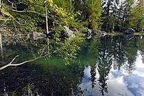 Plateau d'Assy, Lac Vert, Haute-Savoie, ref aa063419GE