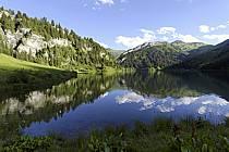 Lac de Saint Guérin, Beaufortain, ref aa071488GE