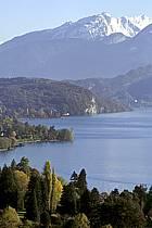 Lac d'Annecy, Haute-Savoie, Alpes, ref aa1065-24LE