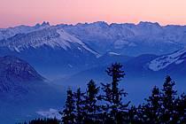 Massif des Beauges, Maurienne, Oisans depuis le Semnoz, Haute-Savoie, ref aa2109-23GE