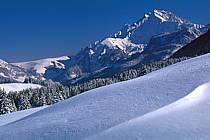 Jallouvre depuis le plateau des Glières, Haute-Savoie, ref aa2128-10GE