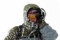 Ski dans le mauvais temps, ref ab053487GE