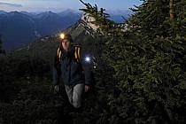 Lampe frontale, Dents de Lanfon, Haute-Savoie, ref ab055120GE