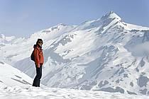 Mont Ouille under Col du Petit Saint Bernard, Alpes Grées, Alpes, ref ab062116GE