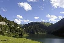 Lac de Saint Guérin, Beaufortain, Alpes, ref ab071474LE