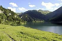 Lac de Saint Guérin, Beaufortain, Alpes, ref ab071475LE