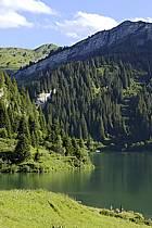 Lac de Saint Guérin, Beaufortain, Alpes, ref ab071476LE