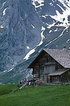 Chalet d'alpage, Massif des  Aravis, Haute-Savoie, ref ae0279-07GE