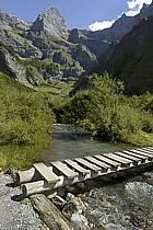 Sixt, Cirque du Fer à Cheval, Haute-Savoie, Alpes, ref ae055555GE