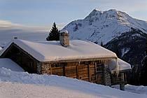 Chalet et Mont Pourri, La Rosière, ref ae060609GE