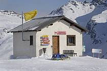 Cabane de pisteurs, La Rosière, Espace San Bernardo, Savoie, Alpes, ref ae060666LE