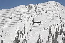 Paravalanches, Flaine, Haute-Savoie, Alpes, ref ae060928LE
