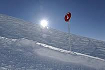 Panneau info piste, Alpes, ref ae060931LE