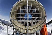 Canon à neige, Les Arcs, Haute-Savoie, Alpes, ref ae061018LE