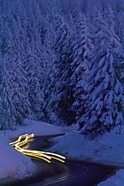 Route de montagne, Le semnoz, Haute-Savoie, ref af2120-32GE