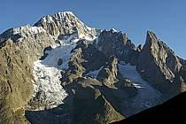 Mont-Blanc de Courmayeur, Noire de Peuterey, Massif of Mont-Blanc, Alpes, ref ba042112GE