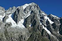 Grandes Jorasses, Massif du Mont Blanc, Alpes, ref ba042129LE