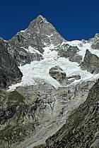 Aiguille de Leschaux, Massif du Mont Blanc, Alpes, ref ba042132LE
