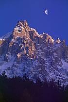 Aiguille du Midi , Massif du Mont Blanc, Haute-Savoie, ref ba0497-38GE