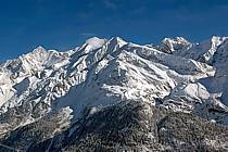 Aiguille de Bionnassay, dômes de Miages et Tré la Tête, Massif du Mont Blanc, Haute-Savoie, Alpes, ref ba050001LE