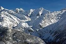 Tré la Tête et aiguille des Glaciers, Massif du Mont Blanc, Haute-Savoie, Alpes, ref ba050002LE
