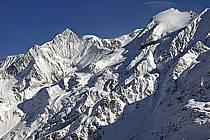 Aiguille de Bionnassay, dôme du Goûter and dômes de Miages, Massif of Mont-Blanc, Haute-Savoie, Alpes, ref ba050003GE