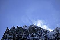 Aiguilles Marbrées, Massif of Mont-Blanc, Alpes, ref ba050857GE