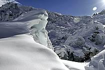 Séracs of Géant, Massif of Mont-Blanc, Haute-Savoie, Alpes, ref ba050935GE