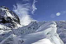 Séracs of Géant, Massif of Mont-Blanc, Haute-Savoie, Alpes, ref ba050938GE